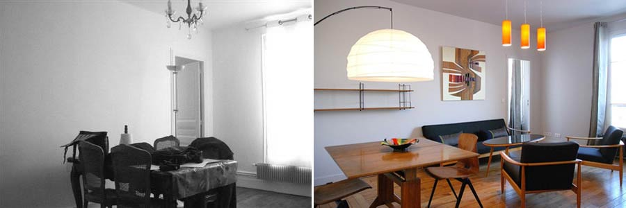 R novation compl te d 39 un appartement 3 pi ces 60m2 photos avant apr s - Decoration interieur appartement 2 pieces ...