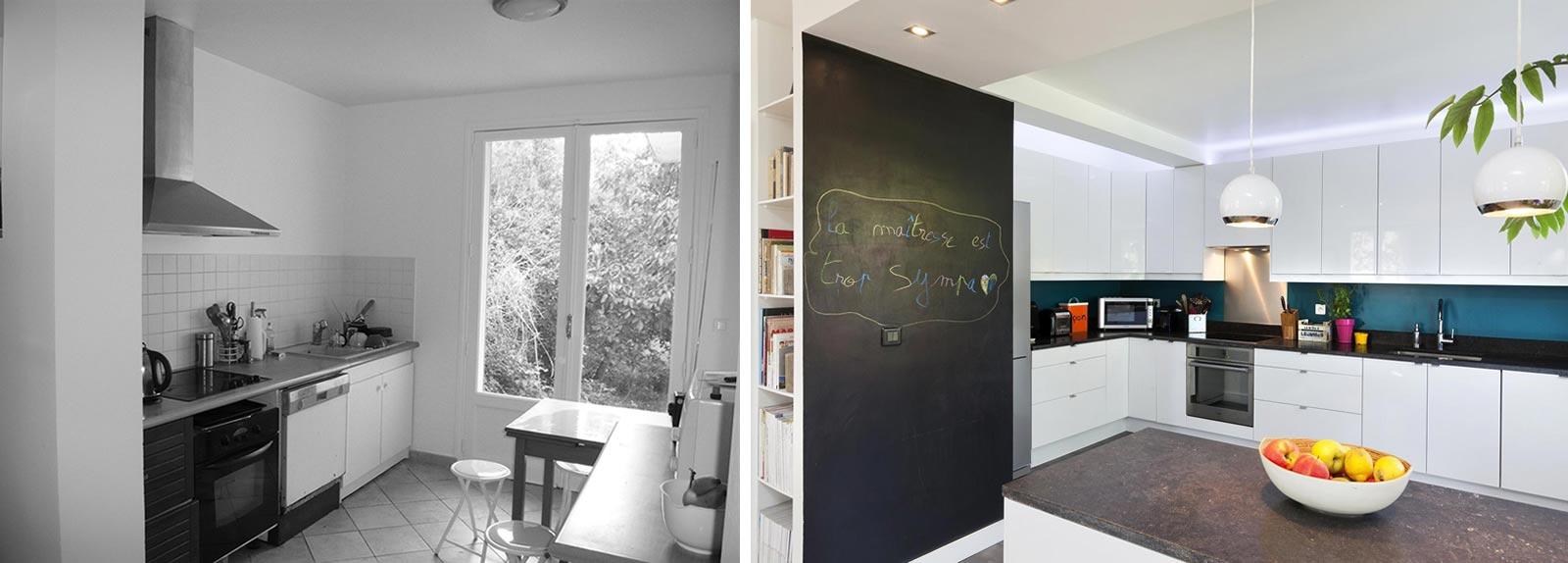 relooking d'intérieur d'une maison individuelle de 5 pièces à nîmes